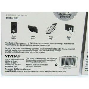 Vivitar Accessories - Vivitar Twist N Hold Phone Grip and Cord Holder!